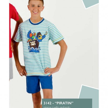 Pijama niño Kukuxumusu 3142