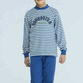 Pijama terciopelo Assman Ref.  7236