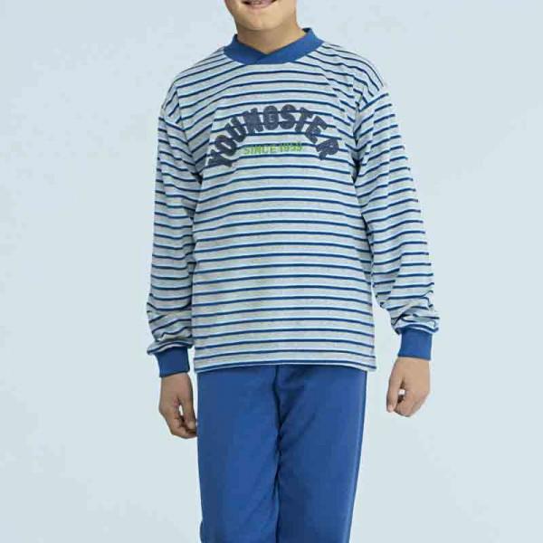 Pijama terciopelo Assman 7902
