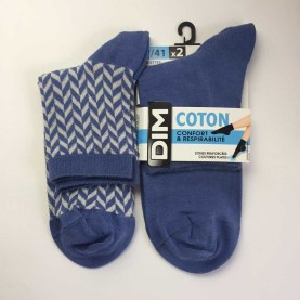 Pack 2 Pair Dim socks D05UP