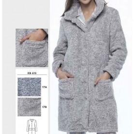 Women Guasch night coat style KH610 17A