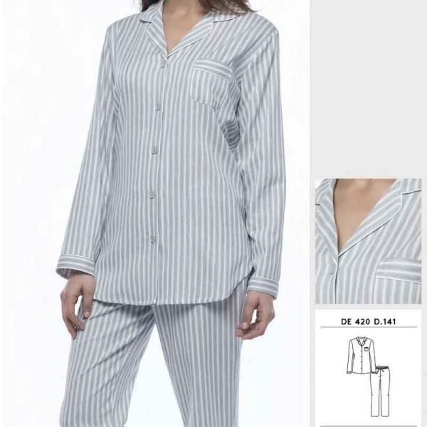 Pijama abierto Aralia 7399