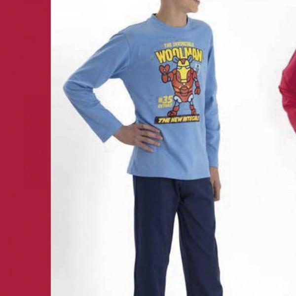 Pijama niño Kukuxumusu 3156