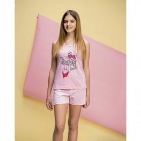 Pijama niña Even 7222