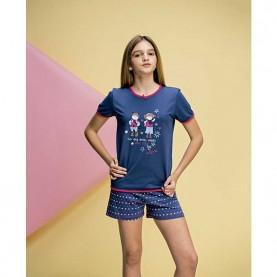 Pijama niña Even 7229
