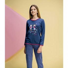 Pijama niña Even 7230