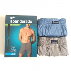 Pack 2 boxer abanderado AS00100