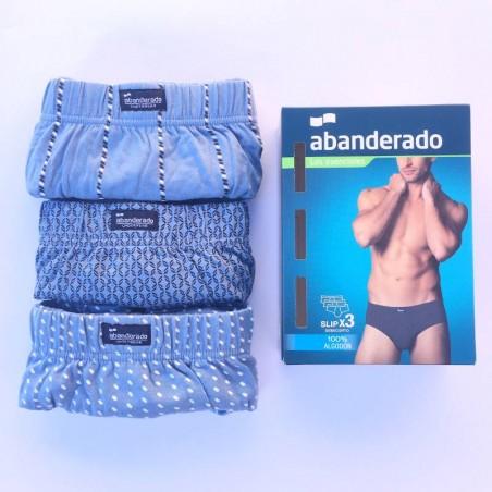 Pack 3 slip Abanderado 100% cotton Style 0080
