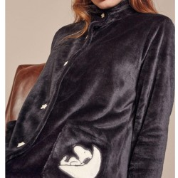 Night coat Gisela 1720