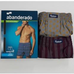 Pack 2 boxer abanderado style AS00250