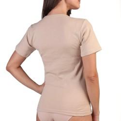 Camiseta punto ingles manga corta 125