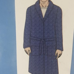 Men night coat 80104