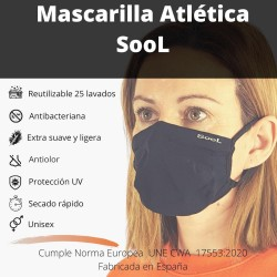 Sool Athletic Face Masc,