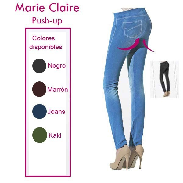 Legging push-up Marie Claire colores