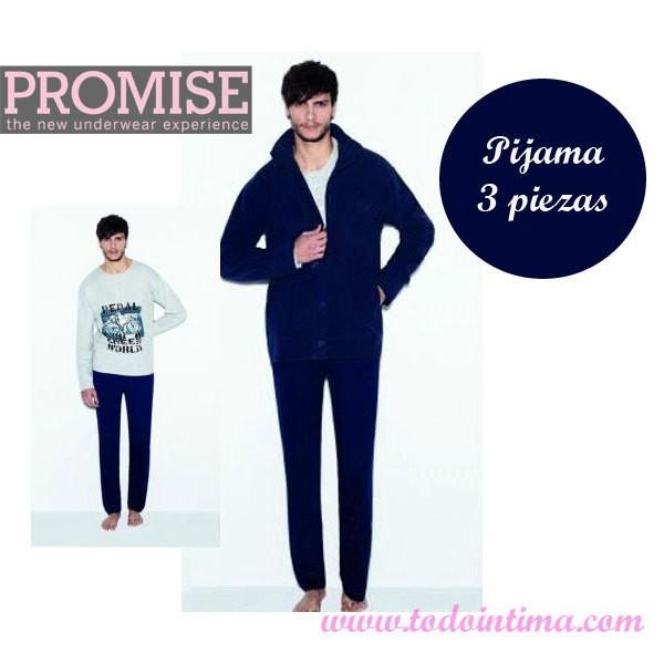 Pijama 3 piezas Promise 3003