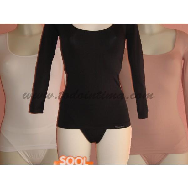 Long sleeve seamless vest 120