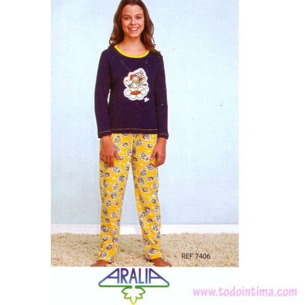 Pijama niña Aralia 7406