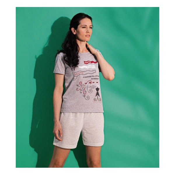 Even pajama style 7456