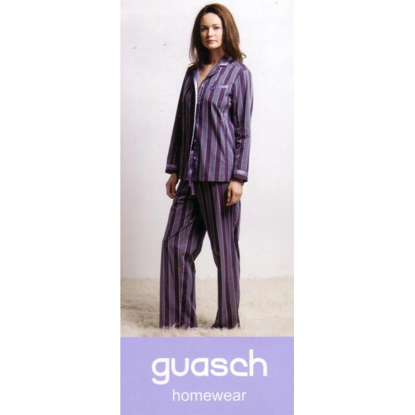 LADY PAJAMA SATIN-COTTON OF GUASH STYLE DE132 D313