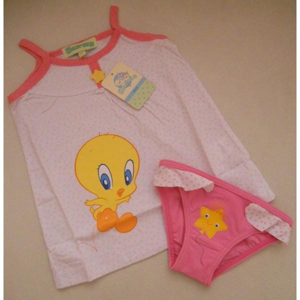 Vest and bikini looney Tunes Style 6185