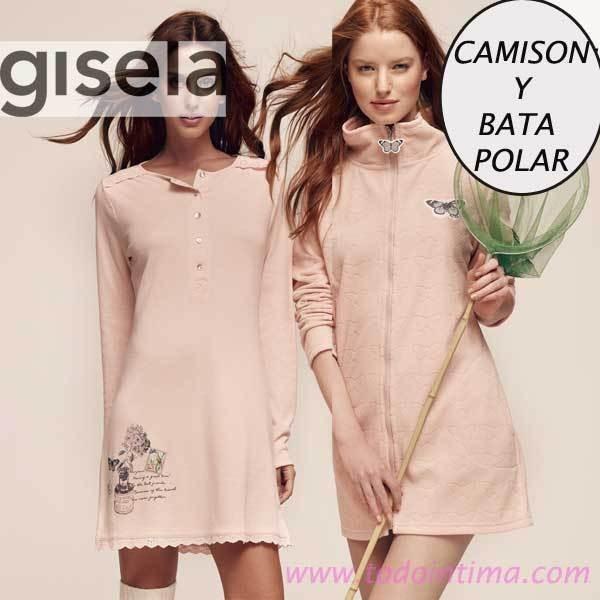 Camisón y Bata Gisela 1224