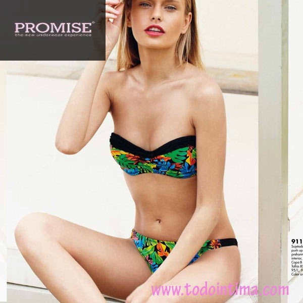 Bikini bandó push-up Promise ref. 9118