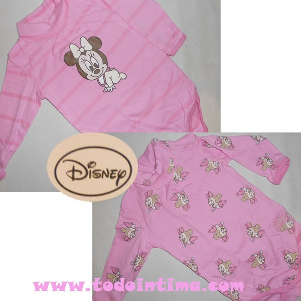 Pack 2 bodies niña Disney